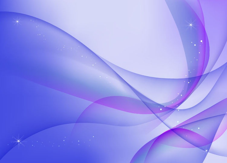 Abstract Blue Purple Waves Vector Background _ Free Vector Graphics ___